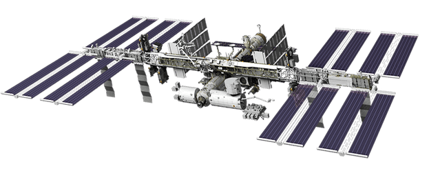 international space station png