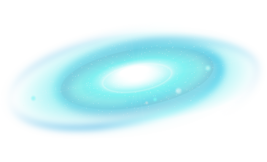 Space wallpaper png. Turquoise sky blue galaxy