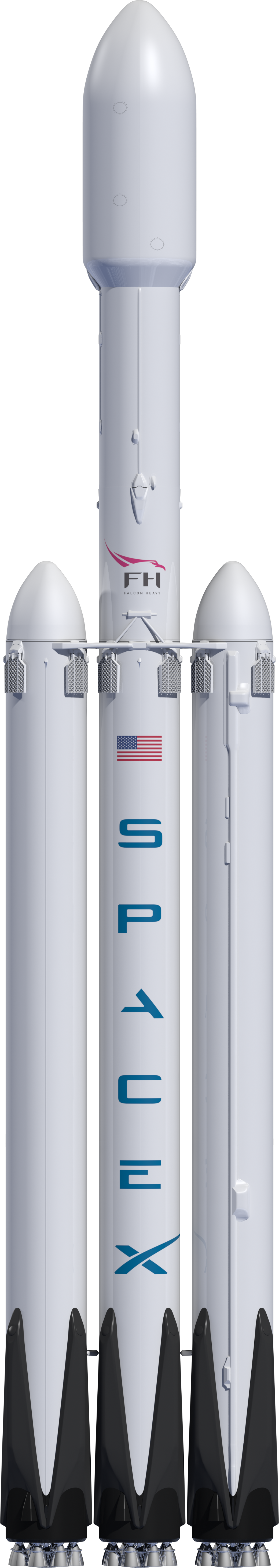 Space x png. Falcon heavy spacex