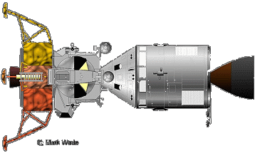 apollo spacecraft clipart - 500×375