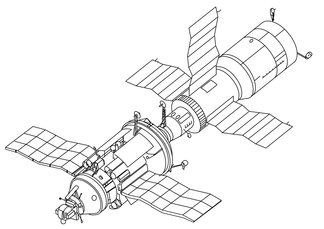 Spacecraft drawing iss. Va wikiwand a of