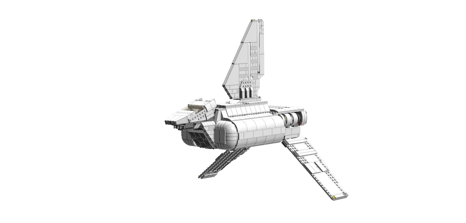 Spacecraft drawing product. Lego ideas star wars