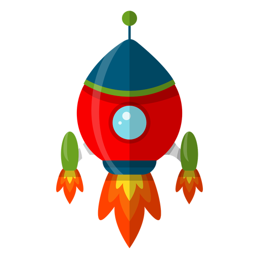 Spaceship cartoon png. Kids illustration transparent svg
