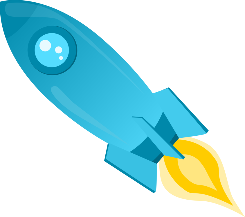 Water rocket spacecraft outer. Spaceship clipart blue clip royalty free library