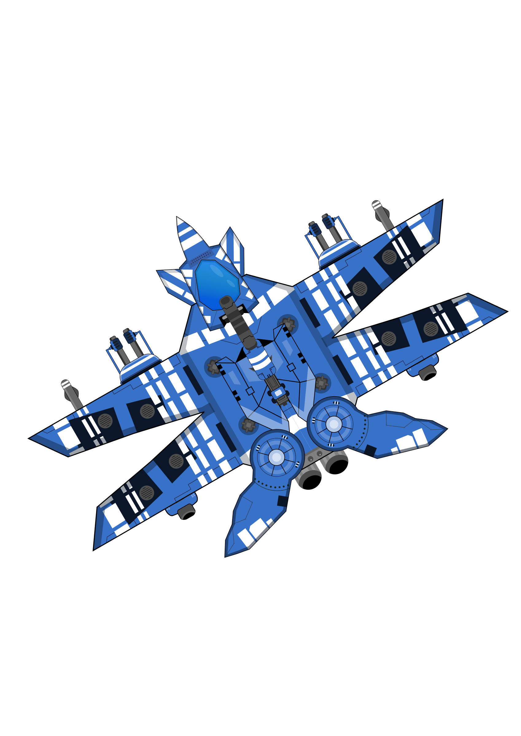 Big image png. Spaceship clipart blue clip art black and white library
