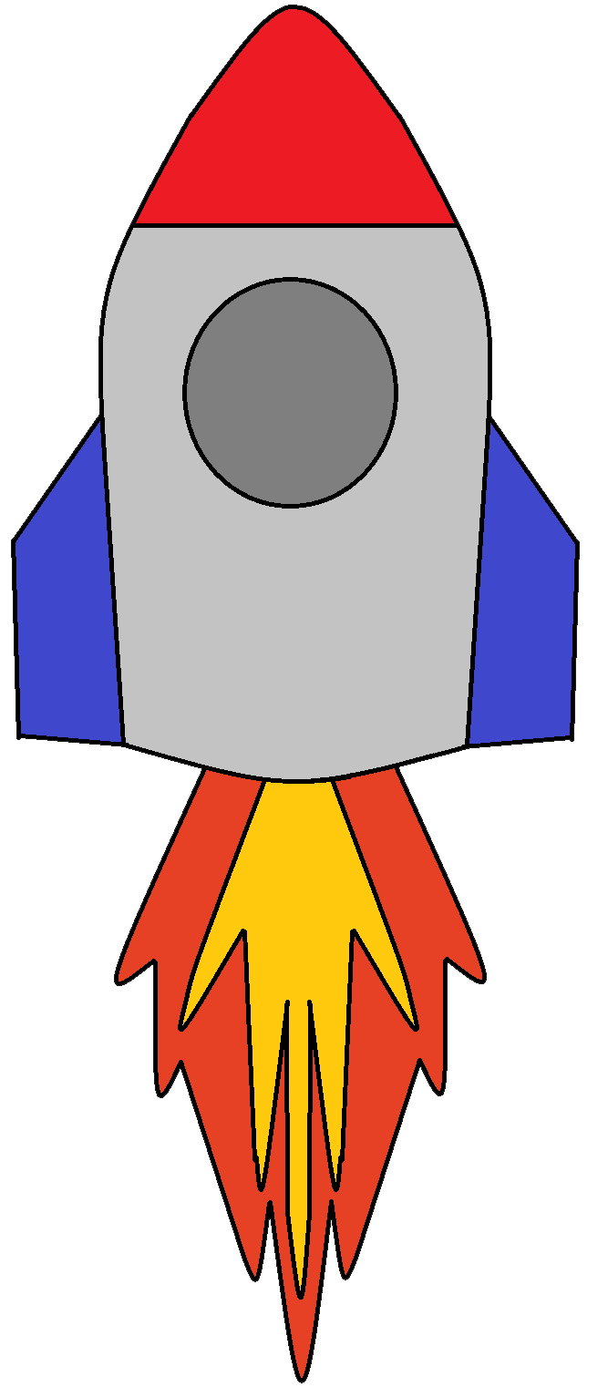 Spaceship clipart two. Download the png files