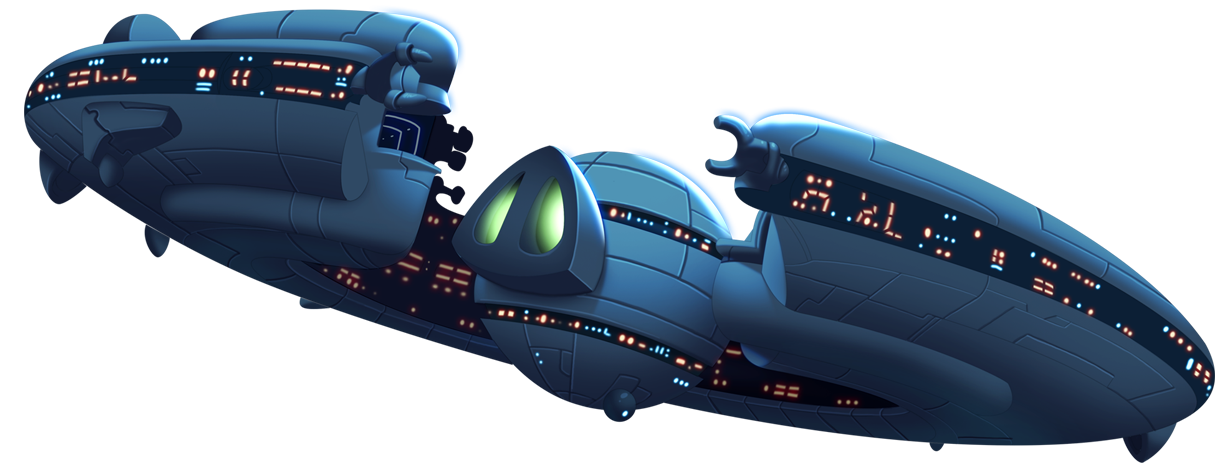 Spaceship png images. Image footer angry birds