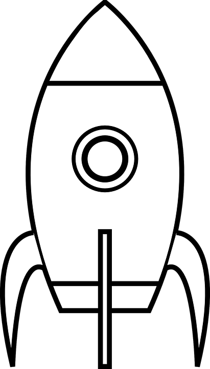 Free image on pixabay. Spacecraft drawing spaceship vector freeuse library