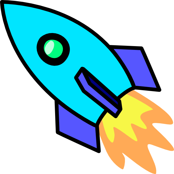 Clip art at clker. Spaceship clipart blue image transparent library