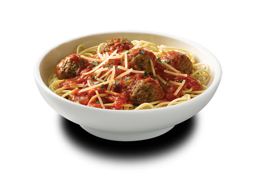 Spaghetti and meatballs png.