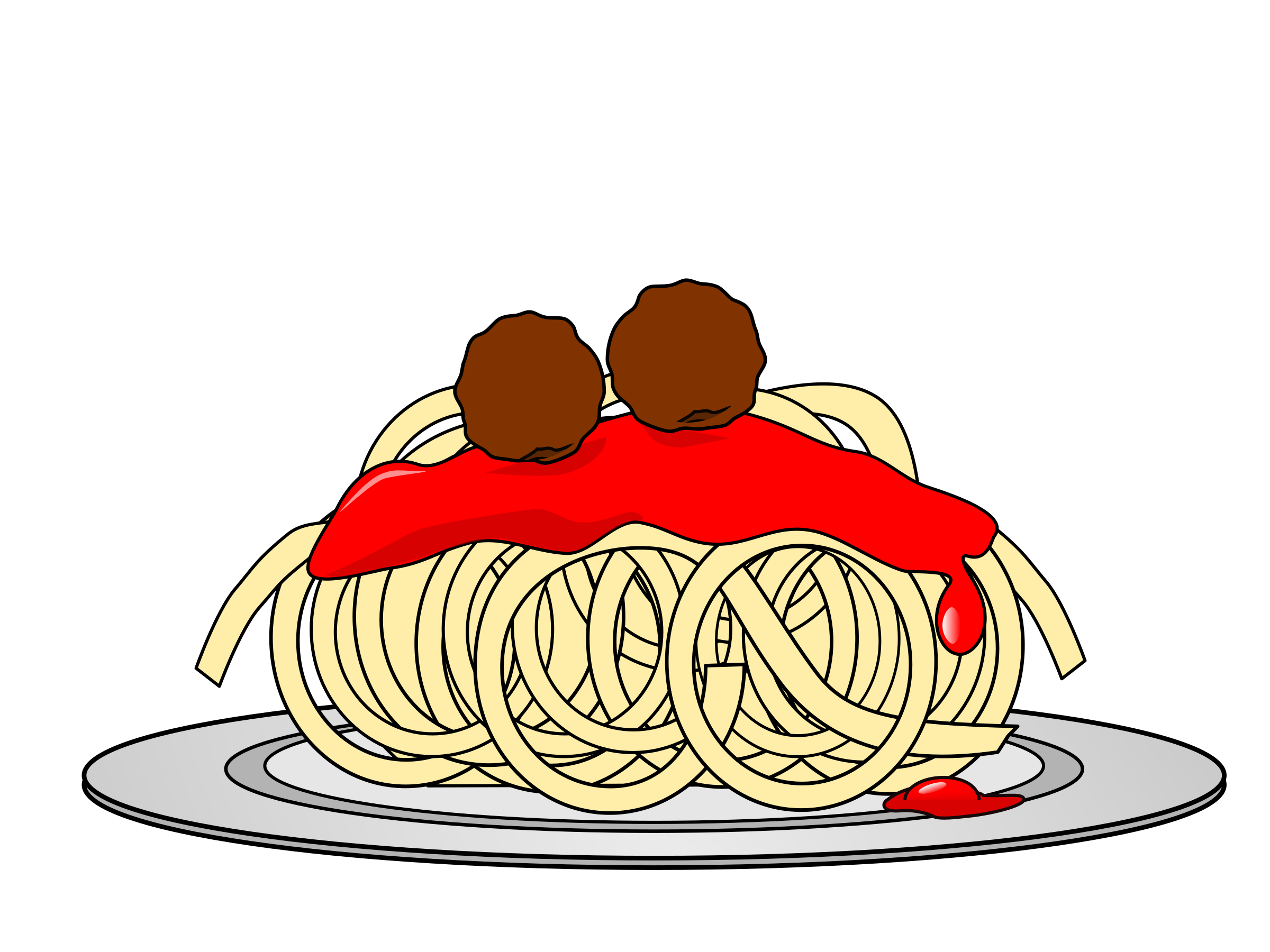 spaghetti and meatballs png