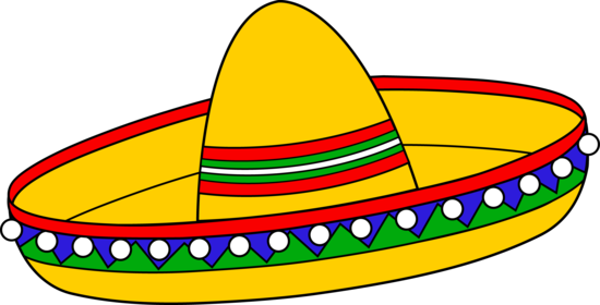 Spain clipart hat. Sombrero pencil and in