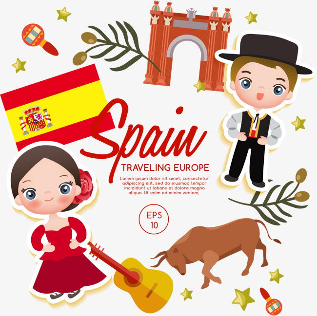 Spain clipart club spanish. Png vectors psd and