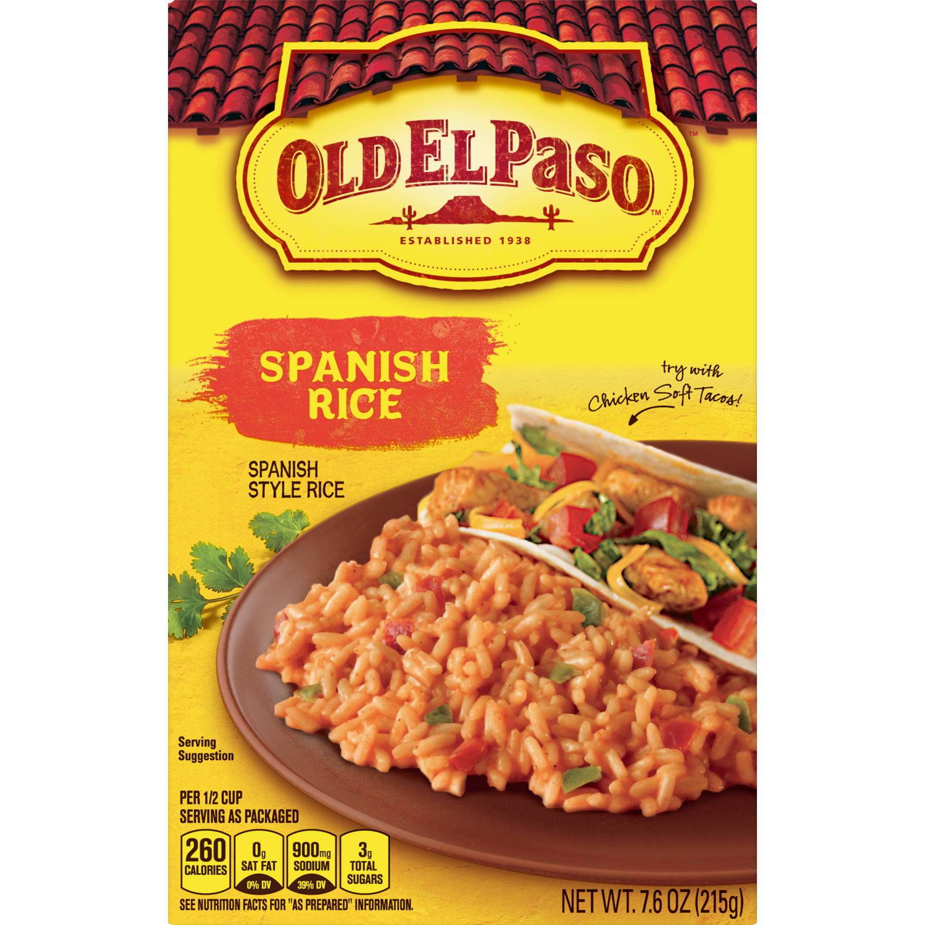 Spanish rice png. Old el paso sides