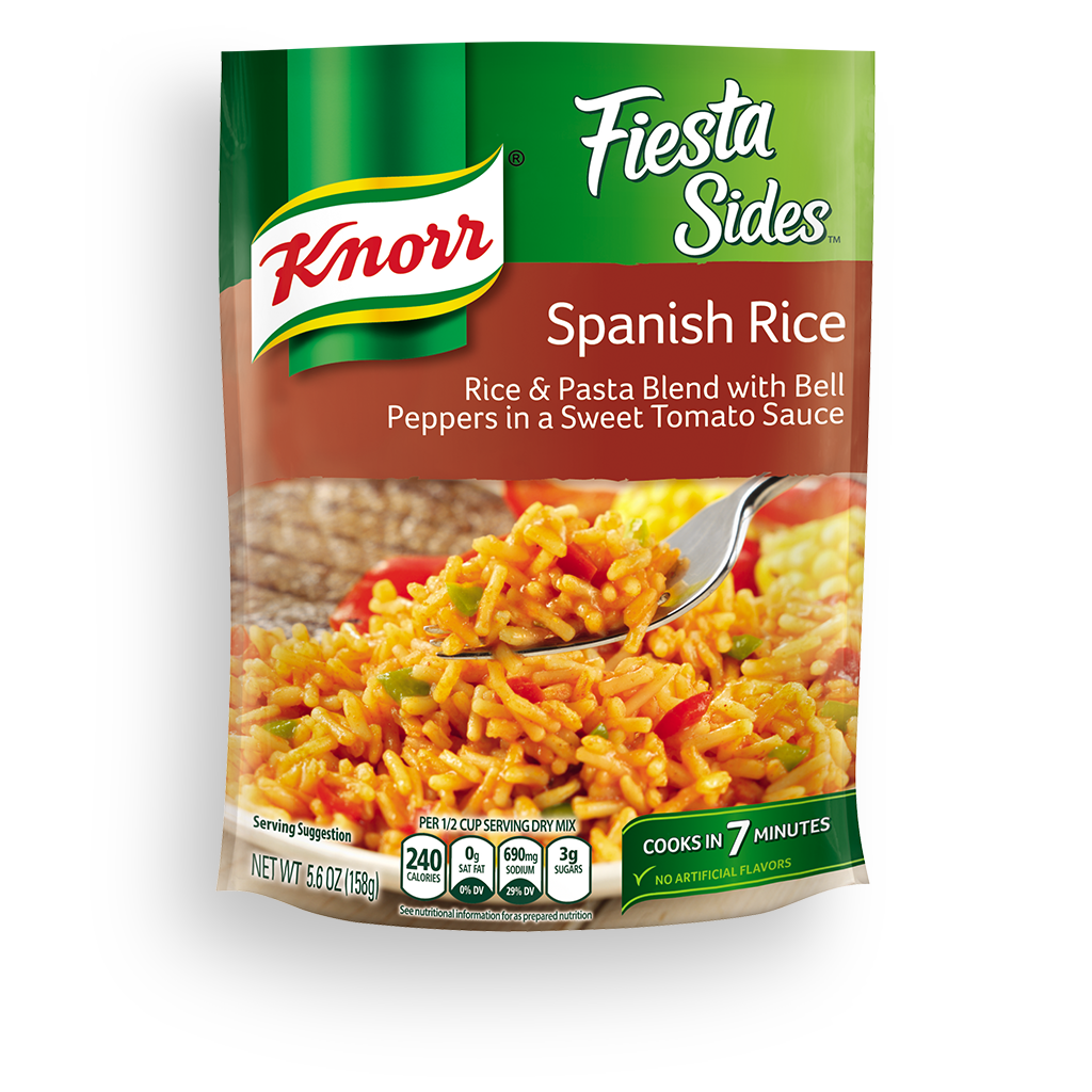 Spanish rice png. Knorr fiesta sides
