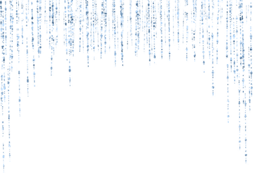 Falling glitter png. Border blue fall waterfall
