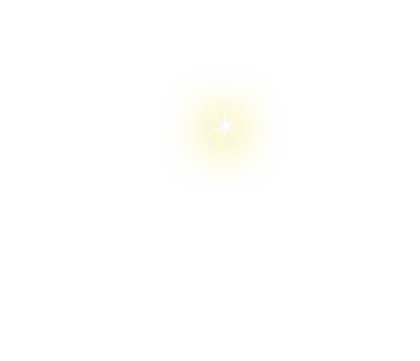 White sparkle png. Yellow