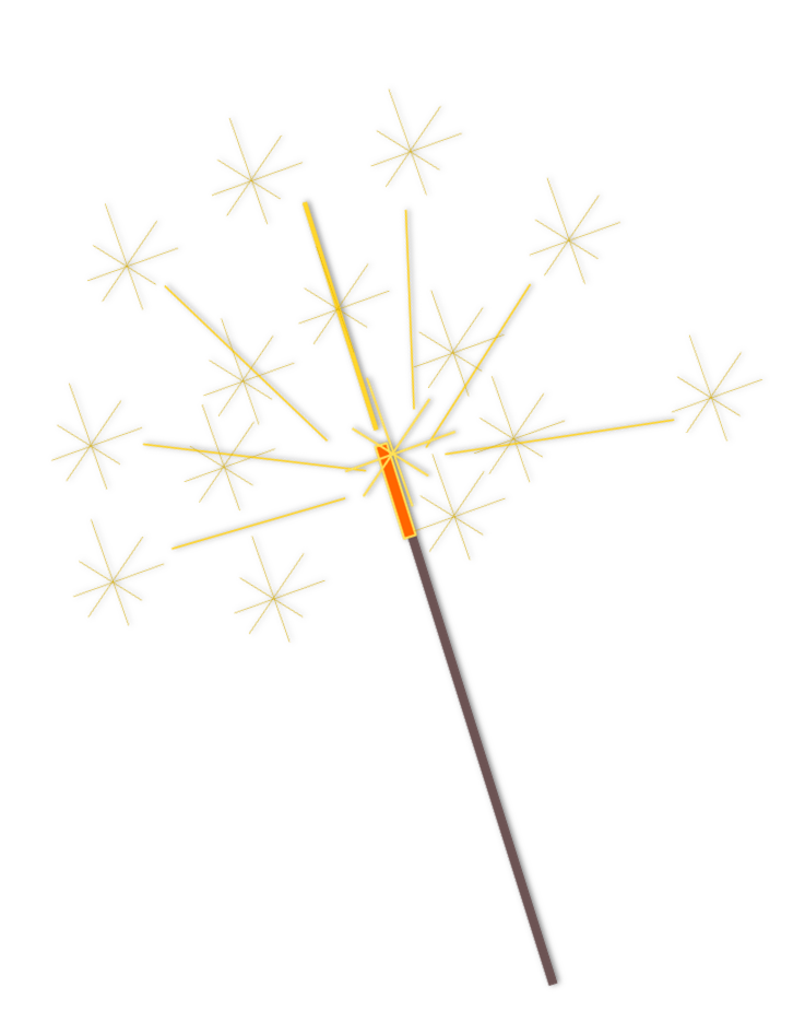 Sparklers. Free sparkler cliparts download