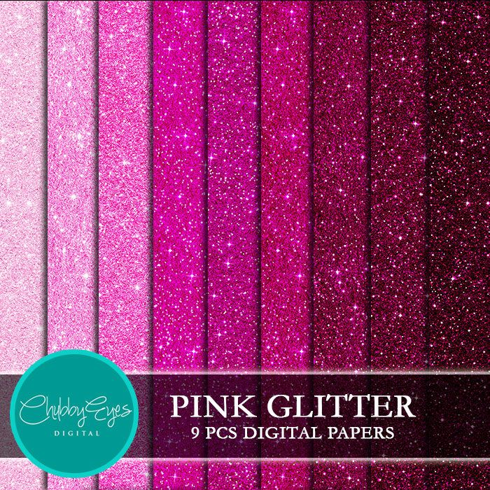 Sparkles clipart pink sparkles. Glitter digital papers scrapbook
