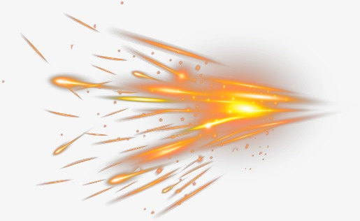 Sparks clipart. Spark splash burning fire