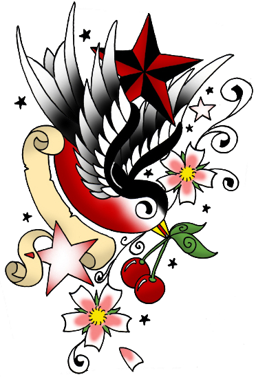 sparrow tattoo png