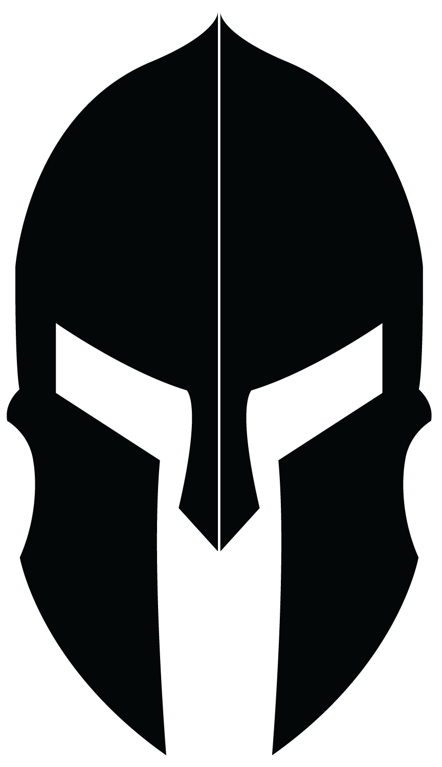 Archangel vector skull spartan. Logo design for helmet