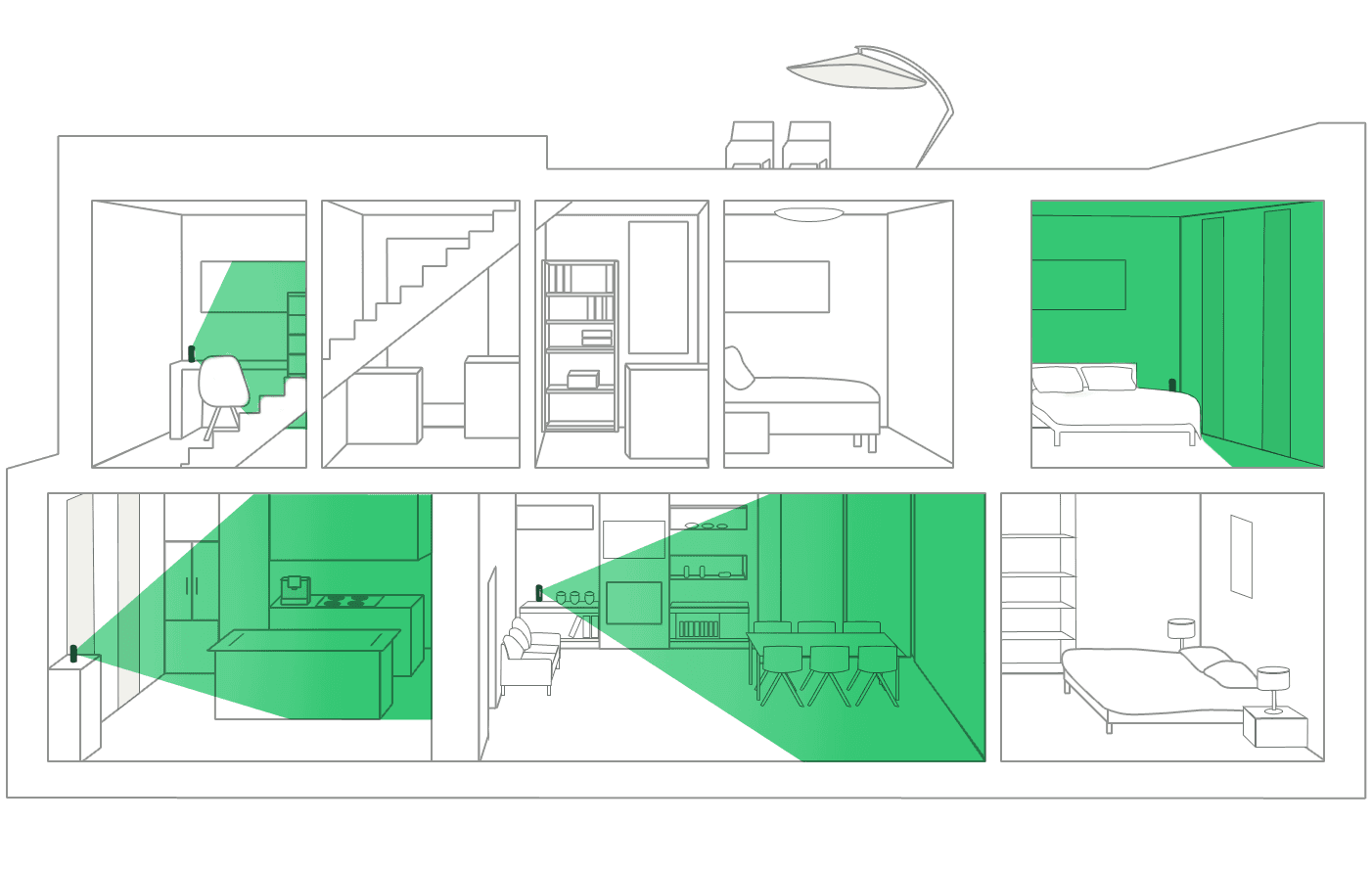 Spatial drawing movement architecture. How hayo works takes