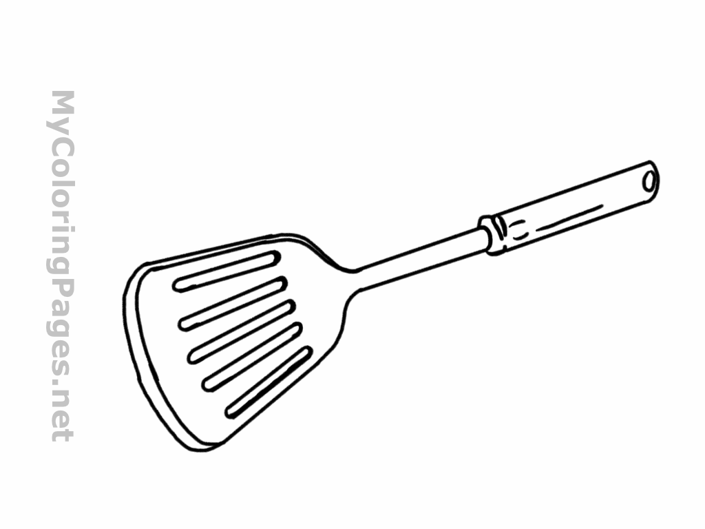 Spatula clipart laboratory apparatus. Best coloring pages