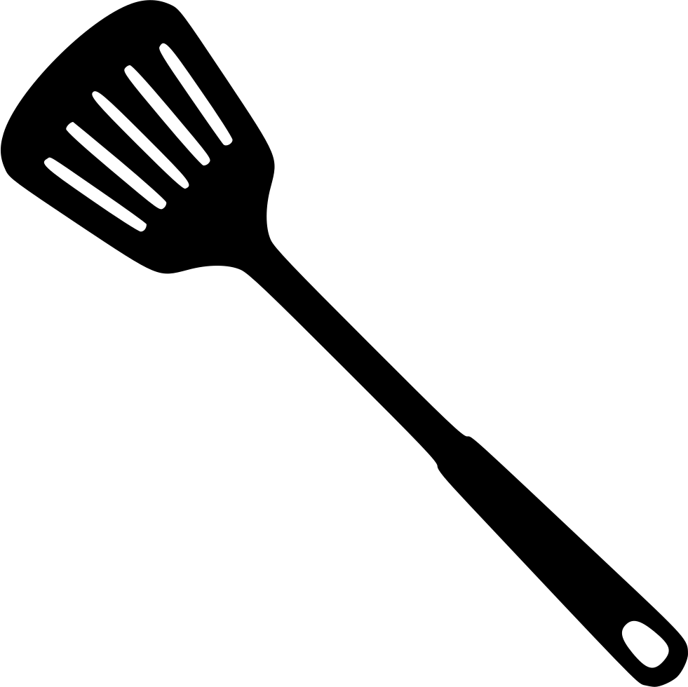Png icon free download. Spatula svg clip black and white library