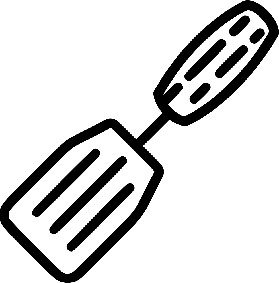 Png icon free download. Spatula svg jpg freeuse download