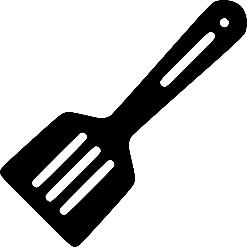 Spatula svg utensils. Cook fry frying utensil