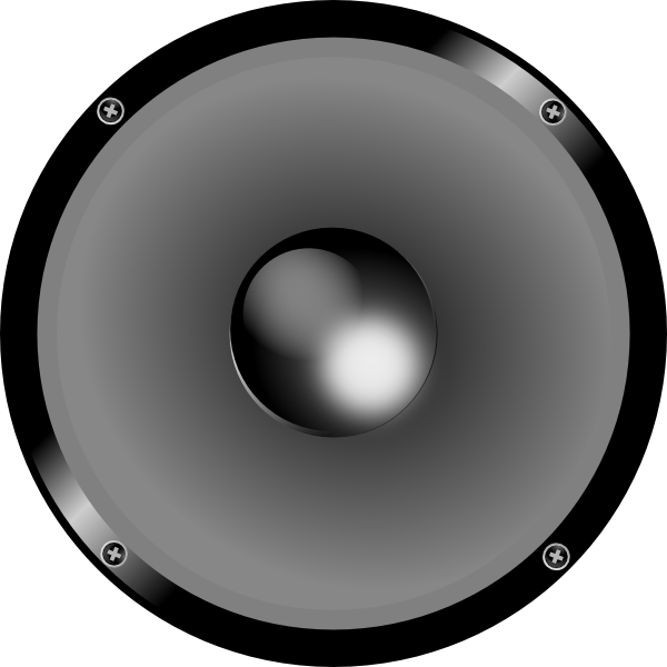 Speaker 3d png. Clip art at clker