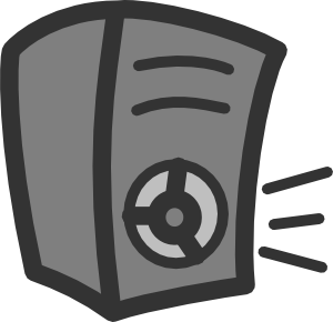 Speaker clipart. Clip art at clker