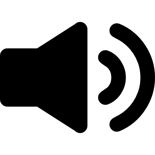 Speaker clipart audio symbol. Interface icons free download