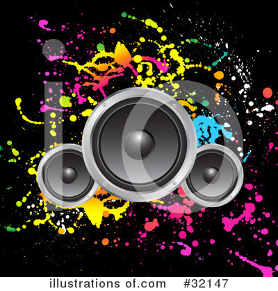 Speaker clipart loudspeaker. Speakers illustration by kj
