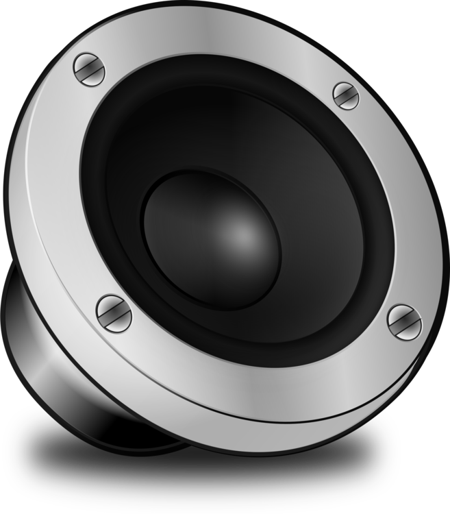 Speaker clipart loudspeaker. Computer speakers sound vehicle