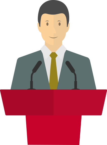 Speaker clipart public speech. Free celebrity speaking cliparts