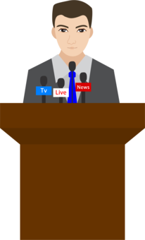 Speaker clipart public speech. Perfect speaking presentation ted