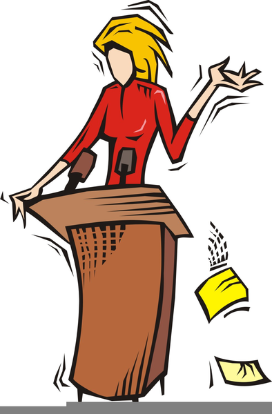 Speaker clipart public speech. Cliparts for speaking free