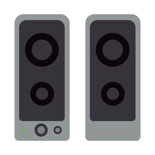 Speaker vector png. Speakers flat icon transparent