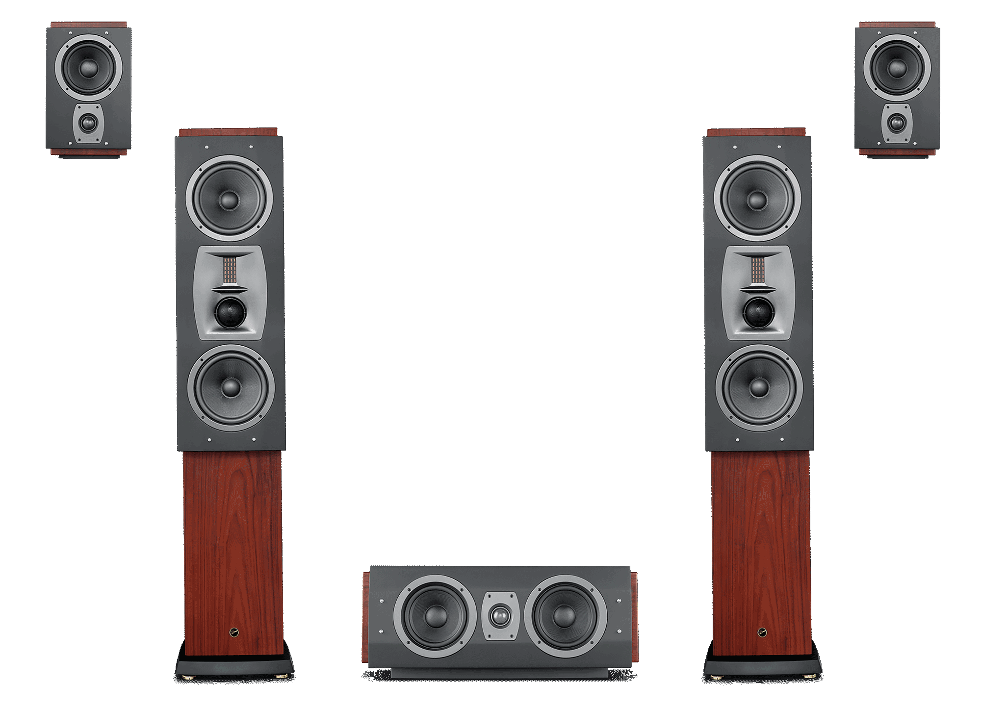 Speakers 3d png. Rm mkii home theater