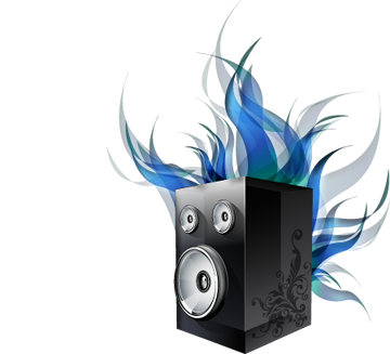 Speakers art png. A breeze to install