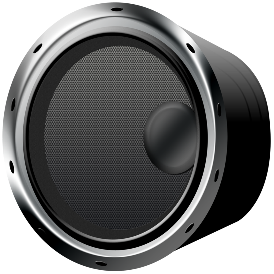 Speakers art png. Audio speaker image purepng