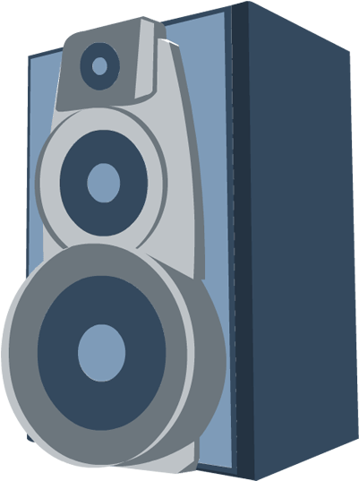 Speakers clipart technology. Download free png photo