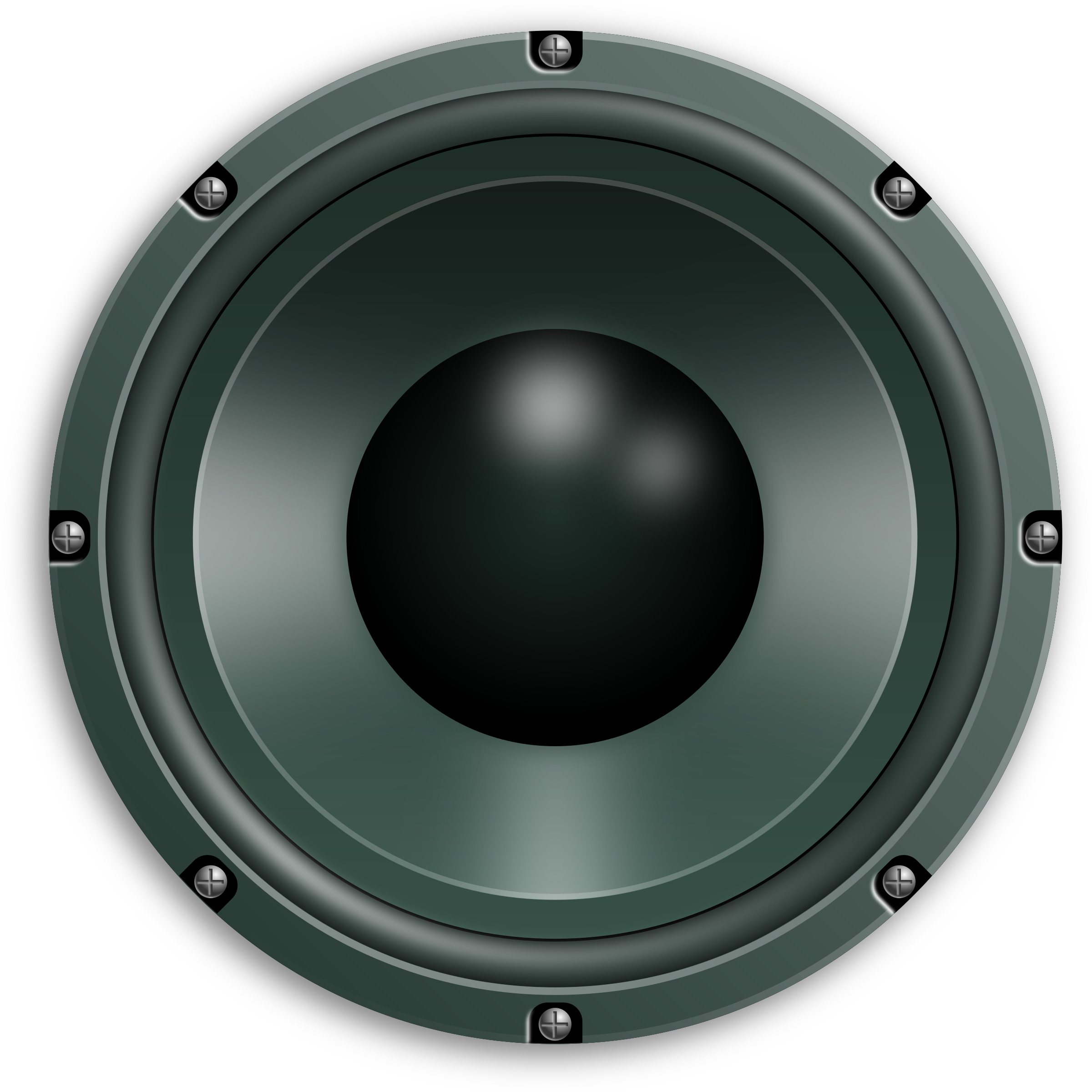 Speakers clipart circle. Audio png free download