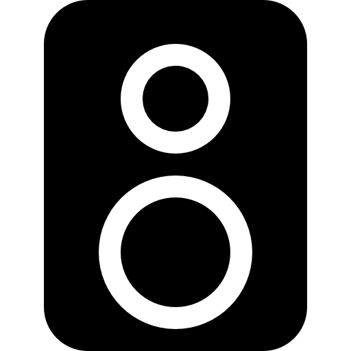 Speakers icon png. Page svg