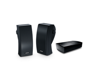 Speakers transparent dancehall. Soundtouch outdoor speaker system