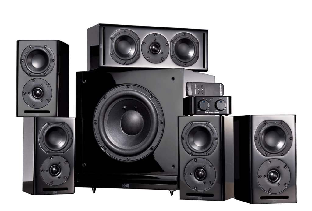 Speakers transparent diy. Cg home theater system