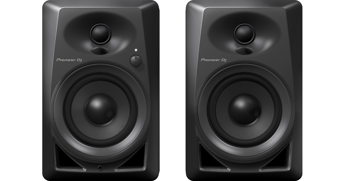 Speakers transparent monitor. Dm inch compact active