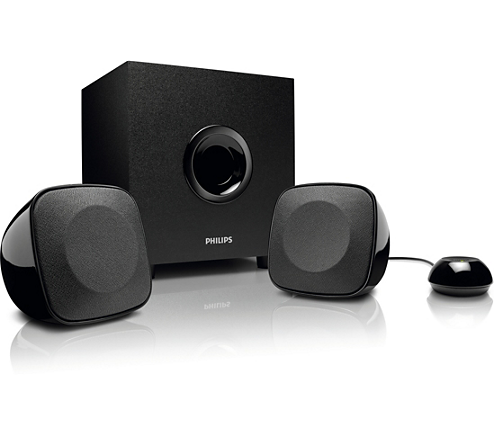 Spa philips . Speakers transparent multimedia clip freeuse library